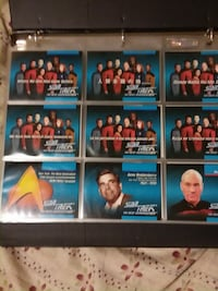 Star trek trading/playing cards Williamsport, 21795