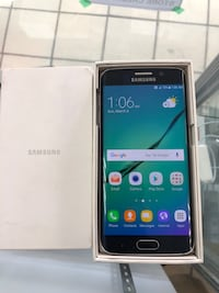 Samsung Galaxy S6 Edge 32GB , Blue , RAM 3GB , Camera 16MP Toronto, M5A 2G5