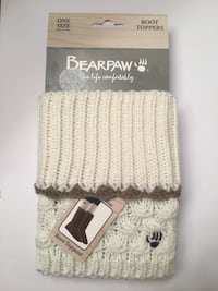 Bearpaw Boot Toppers Women's Ivory Gainesville, 20155