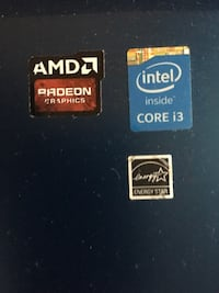 AMD Radeon Graphics, Intel Core i3, and Energy Star stickers Toronto, M9A 2H8