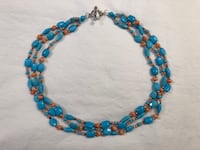 Stunning natural turquoise necklace Montgomery Village, 20886