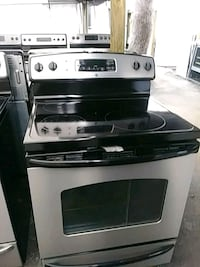 Stove glass top ge 804 mi