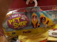 Ducky costume for small dog Pawtucket, 02861