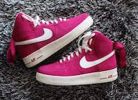 Fuchsia Air Force 1 men size 10.5 Lewisville, 75056