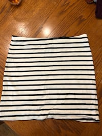 white and black stripe skirt Waterford, 48328