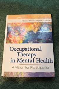 Occupational Therapy in Mental Health Textbook