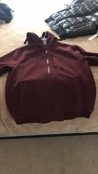 maroon zip-up hoodie Charleston, 29412