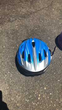 blue and black bicycle helmet Trumbull, 06611
