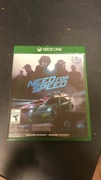 Need for Speed Xbox One game case Wichita Falls, 76308
