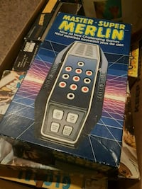 Master Merlin vintage electronic game.