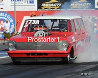 8x10 Drag Racing Photo HOME WRECKER III A/GS Chevy Grocery Getter  2007 Bakersfield Smyrna