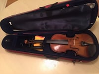 Stentor II Violin + extra bow, shoulder rest, 2 X extra strings, rosin