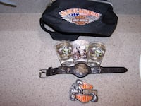 HARLEY DAVIDSON - 6 items - see below  Vaughan