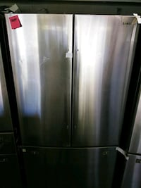 Samsung stainless steel 3dr refrigerator