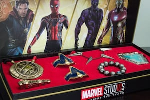 Marvel Avengers Power Pack Jewelry Collection (1 Out of 7200 Made)!