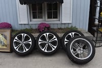 Kia Forte Alloy Rims with tires set Ancaster, L9G 3X5