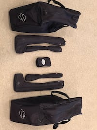 Harley-Davidson luggage and tool bags with tools. For side saddles  Port Saint Lucie, 34983