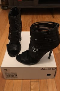 Black Aldo high heel