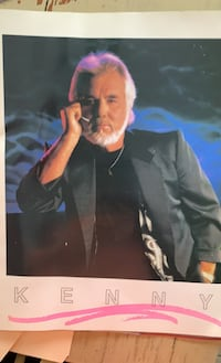 KENNY ROGERS concert book of concert NOV 18, 1987 in B'ham, AL Prattville, 36066