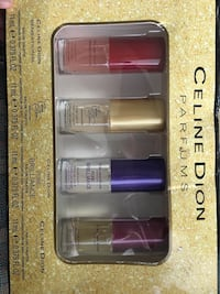 NEW IN BOX: Celine Dion Perfume Gift Set Temple, 76502
