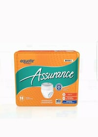Equate Overnight Absorbency Unisex Underwear Size Small Medium 16 Count Allentown