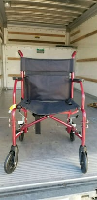 red and black rollator walker Anaheim, 92807