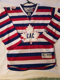 Montreal Canadians Official Reebok Youth Jersey | Small | 100 Years