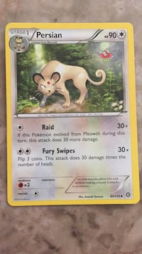 Persian Pokémon Card Newport, 48166