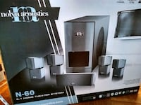 Nolyn Acoustics N-60 5.1 Home Theater System Toronto, M2N