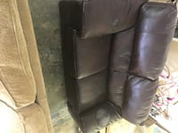 Fake leather loveseat with damage on the arms… Very solid Macon, 31216