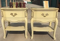 Two French Provincial nightstands/side tables  Redlands, 92374