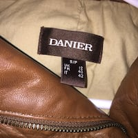 DANIER Real brown leather jacket Mississauga, L5N 3S6
