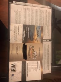 Two entries to the Main Event Blackjack Tournament on the Carnival Magic. We won these on another cruise, but will not be able to go on this one. Entry on the ship is $500.00 a person, but I am asking $400.00 for both entries. Cypress, 77433