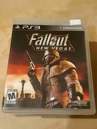 PS3 Fallout New Vegas game