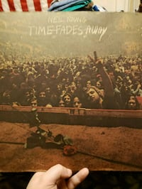 Neil Young Time Fades Away Vinyl Record Derby, 06418