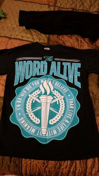 The Word Alive -shirt - small Fairfax, 22031