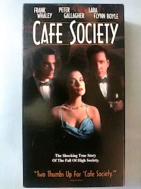 Cafe Society vhs Baltimore