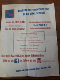 After school activity (The Hub)