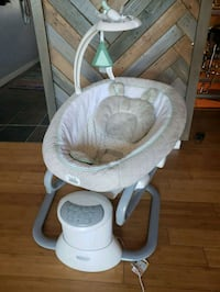 Graco every way soother baby swing with removable rocker
