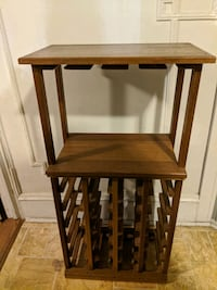 Wood Bar Wine Rack