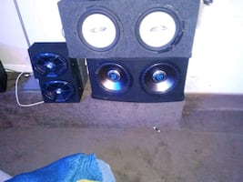 Subwoofers for sale and speakers