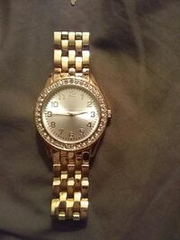 Gold color watch Canton, 44708