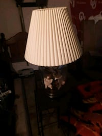 white and brown table lamp Sand Springs