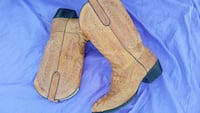 Mens size 10 gator boots