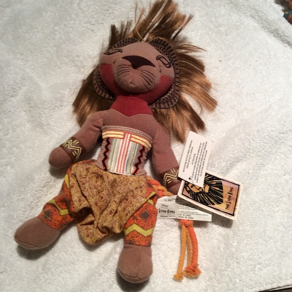 Collectible  brown the lion king plush toy