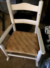 white and gray metal armchair Charlotte, 28269