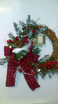 Christmas wreath Youngstown, 44506