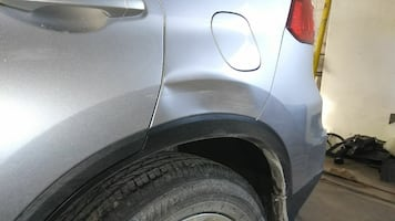 Automotive parts repair and replacement of panels and repair