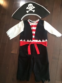 Pirate Costume- Age 1-3 years Edmonton, T6X 0A8