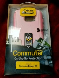 pink OtterBox Commuter Series for Samsung Galaxy S7 with box Parkersburg, 26101